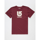 BURTON Logo Vertical Boys T-Shirt