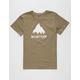 BURTON Classic Mountain Boys T-Shirt