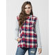 WHITE CROW Unforgiving Womens Flannel Shirt