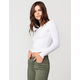 AMBIANCE Off The Shoulder Womens Top