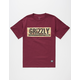 GRIZZLY Lands & Waters Mens T-Shirt