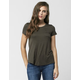 ACTIVE Solid Womens Pocket Tee