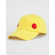 Yellow Red Dot Dad Hat