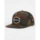 RVCA Commonwealth II Mens Snapback Hat