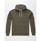 STANDARD SUPPLY Solid Mens Zip Hoodie