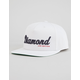 DIAMOND Script Mens Snapback Hat