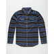 O'NEILL Superfleece Glacier Stripe Mens Flannel Shirt