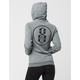 REBEL8 Circle Logo Womens Hoodie