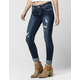 AMETHYST Mid Rise Womens Slim Girlfriend Jeans