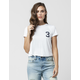 FULL TILT 3 Cropped Womens Tee