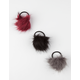 3 Pack Pom Hair Ties
