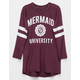 FULL TILT Mermaid University Girls Varsity Tee