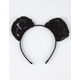 Lace Mouse Ear Headband