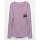 FULL TILT Cali Bear Girls Dolman Pocket Tee
