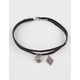 FULL TILT 2 Piece Etched Charm Choker