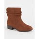 SODA Short Slouch Womens Boots