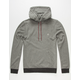 ELEMENT Classic Cornell Mens Henley Hoodie
