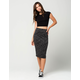 FULL TILT Space Dye Midi Skirt