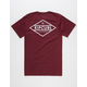 RIP CURL Undertow Diamond Mens T-Shirt