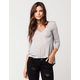 FULL TILT Lattice Womens Top
