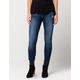 FLYING MONKEY Dark Wash Womens Skinny Jeans