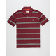 FOURSTAR Stripe Mens Polo Shirt