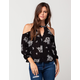 FULL TILT Vintage Floral Womens Top