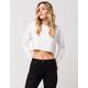 LIRA Solid Cutoff Womens Sweater