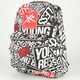 YOUNG & RECKLESS Block Backpack