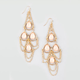 FULL TILT Stone Teardrop Earrings