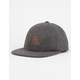 JETTY Leather Mark Mens Strapback Hat