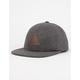 JETTY Leather Mark Mens Strapback Hat