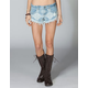 BILLABONG Lanew Womens Denim Cutoff Shorts