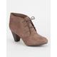SODA Heeled Womens Desert Boots