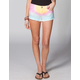 BILLABONG Broken Hearted Womens Cutoff Denim Shorts
