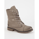 DIRTY LAUNDRY Razorbill Womens Combat Boots