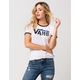 VANS Palm Night Womens Ringer Tee