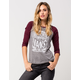 VANS Full Grain Womens Raglan Tee