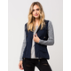 OTHERS FOLLOW Knit Twill Womens Jacket