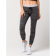 INSPIRED HEARTS Striped Band Womens Jogger Pants