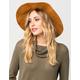 Suede Braid Womens Panama Hat
