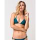 VOLCOM Simply Solid Triangle Bikini Top