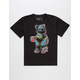 RIOT SOCIETY Palm Bear Boys T-Shirt