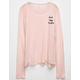 FULL TILT Happy Thoughts Girls Top
