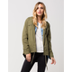 FULL TILT Twill Flannel Womens Anorak Jacket