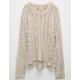 FULL TILT Open Weave Girls Sweater