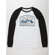 HIPPYTREE MFG Mens Baseball Tee