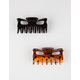 FULL TILT 2 Pack Claw Hair Clips