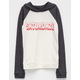 FULL TILT Saturdaze Girls Lightweight Hoodie