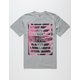 AYC Pink Palms Mens T-Shirt